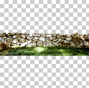 The Stone Walls And Lawn PNG