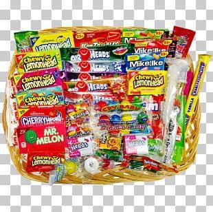 Mishloach Manot Hamper Food Gift Baskets Candy Nerds PNG
