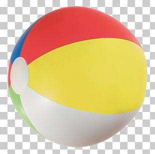 Beach Ball Yellow Sport PNG