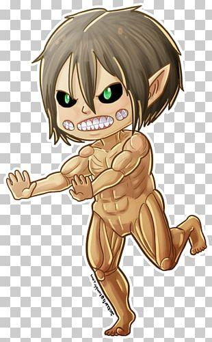 Eren Yeager Mikasa Ackerman Attack On Titan Chibi Levi PNG