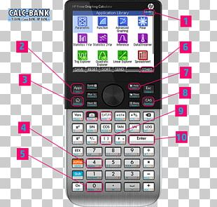 Hewlett-Packard HP Prime Graphing Calculator Computer Algebra System PNG