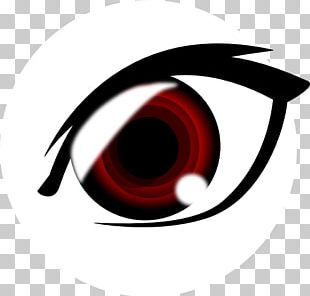 Red Eye Pupil Drawing PNG