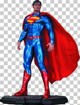 Superman Clark Kent Batman Statue The New 52 PNG