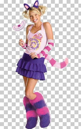 Cheshire Cat Halloween Costume Child Clothing PNG
