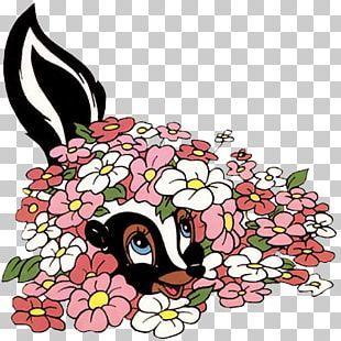 Bambi Thumper Drawing PNG