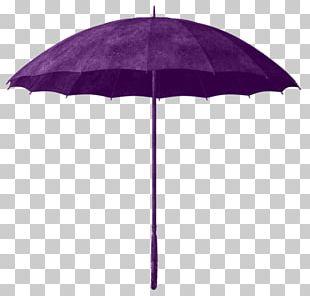 Umbrella Purple PNG