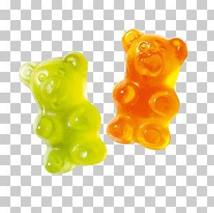 Gummy Bear Gummi Candy Jelly Babies Gelatin Dessert PNG