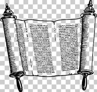 Sefer Torah Scroll Judaism PNG