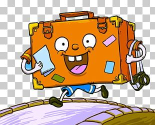 Travel Cartoon Suitcase PNG