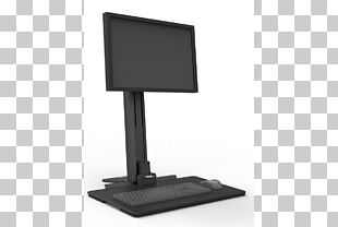 Computer Keyboard Computer Mouse Computer Monitors Sit-stand Desk Computer Monitor Accessory PNG