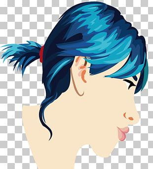 Hair Coloring Nose Black Hair PNG