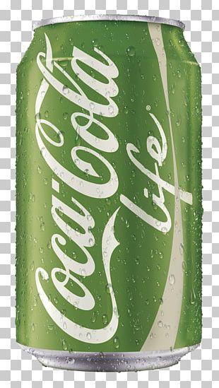 Coca-Cola Life Fizzy Drinks Diet Coke PNG