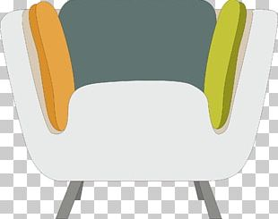 Table Chair Plastic Yellow PNG