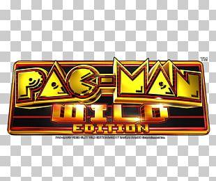 Pac-Man Slot Machine Video Lottery Terminal Progressive Jackpot Casino PNG