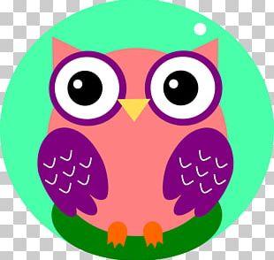 Owl Pink M Beak PNG