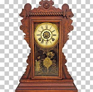Floor & Grandfather Clocks Mantel Clock Antique Alarm Clocks PNG