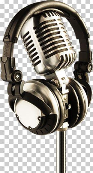Microphone Headphones Music Susan Boyle PNG