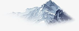 Snow Mountain PNG