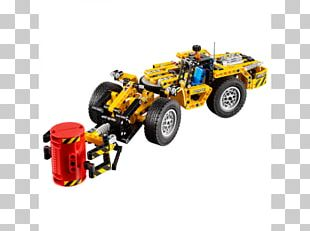 Amazon.com Lego Technic Great Ball Contraption LEGO 42049 Technic Mine Loader PNG