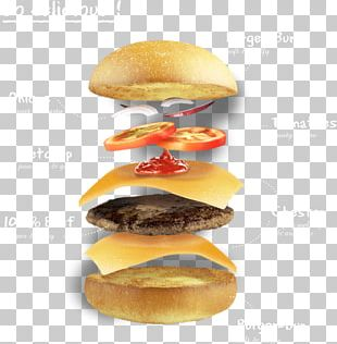 Cheeseburger Slider Hamburger Buffalo Burger Patty PNG