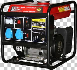 Electric Generator Engine-generator Power Inverters Singly-fed Electric Machine Petrol Engine PNG