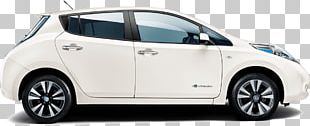 Nissan Leaf Car Nissan Qashqai Electric Vehicle PNG