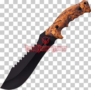 Machete Bowie Knife Hunting & Survival Knives Blade PNG