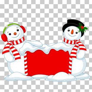 Christmas Snowman Christmas Day Illustration PNG