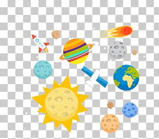 Outer Space Planets PNG
