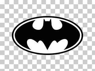 Batman Logo Decal Bat-Signal Stencil PNG