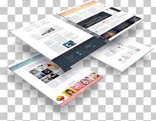 Page Layout Printing Pamphlet PNG