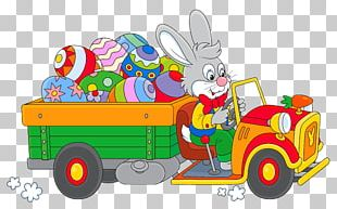 Easter Bunny Easter Egg Egg Decorating PNG