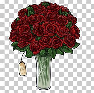 Garden Roses Campbell Floral Design Flower Bouquet PNG