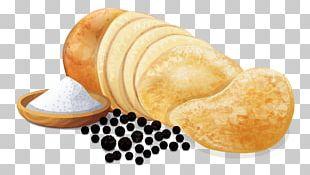 Junk Food Baked Potato Caviar Chips And Dip Panipuri PNG