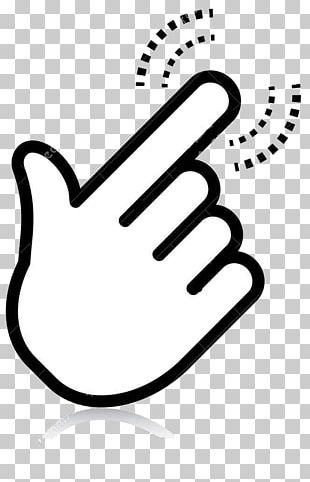 Index Finger Euclidean Pointer PNG