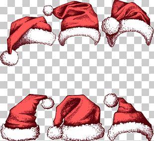 Santa Claus Christmas Hat New Year PNG