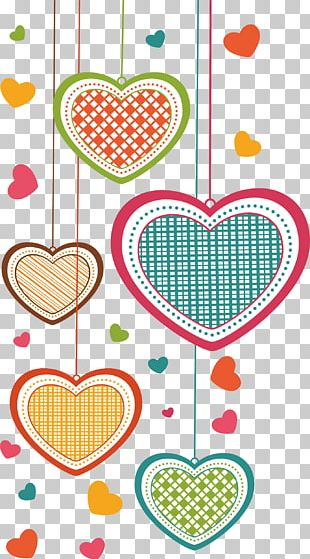 Greeting Card Falling In Love Cartoon PNG