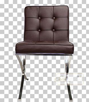 Barcelona Chair Eames Lounge Chair Eetkamerstoel Furniture PNG