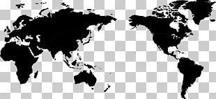 Dynic USA Corporation World Map Globe PNG