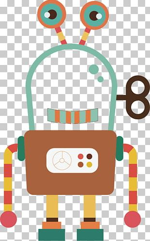 Robot Cartoon Euclidean Illustration PNG
