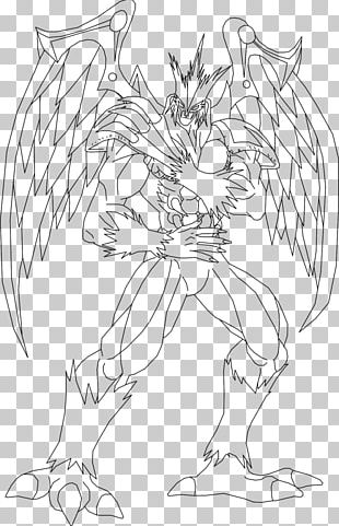 Line Art Drawing Hero Black And White PNG