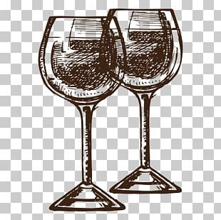 Red Wine Wine Glass Euclidean PNG
