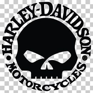 Harley-Davidson Motorcycle Logo Sticker PNG