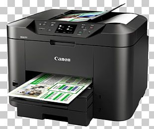 Multi-function Printer Inkjet Printing Canon Automatic Document Feeder PNG