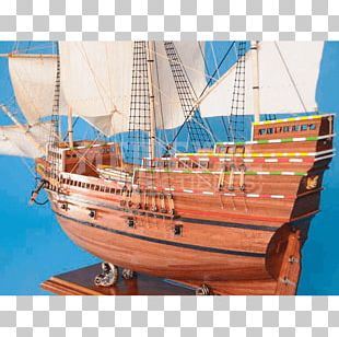 Barque Brigantine Galleon Carrack Ship PNG