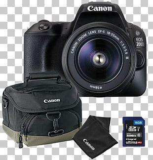 Canon EF-S 18–55mm Lens Digital SLR Camera Lens PNG