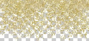 Gold Chemical Element Birthday Gift Paper PNG