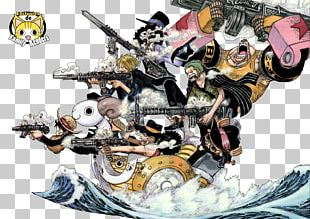 Monkey D. Luffy Roronoa Zoro Vinsmoke Sanji Usopp The Art Of Shonen Jump: One Piece Color Walk PNG