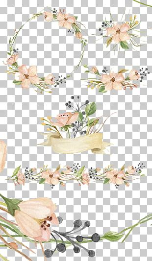 Watercolor Painting Creative Market Pink Flowers PNG
