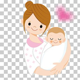 Infant Mother Cartoon PNG